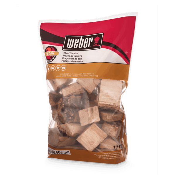 Weber Pecan Wood Chunks