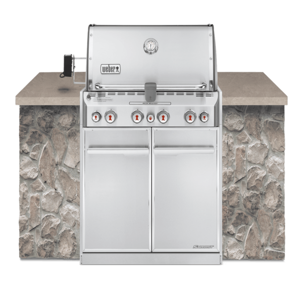 WEBER Summit Series S460 BUILT-IN Natural Gas