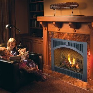 Lopi 864 TRV Gas Fireplace