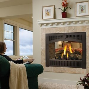 Lopi 864 See-Thru Gas Fireplace