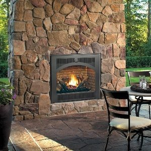 Lopi 864 High Output Indoor Outdoor Gas Fireplace