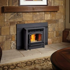 Lopi Agp Pellet Stove Insert Porky S Bbq And Leisure