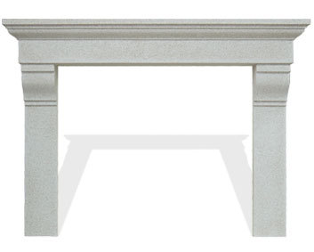 The Classic Series PROVENCIAL Stone Cast Mantel