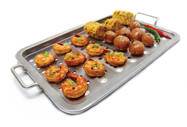 Broil King Flat Stainless Steel Grill Topper